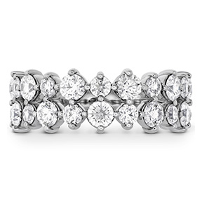 HOF Timeless Two Row Ring
