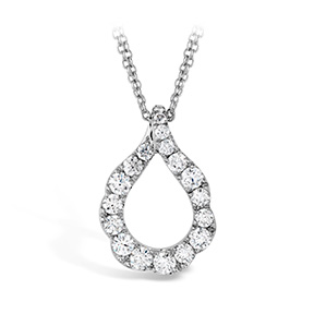 Lorelei Crescent Diamond Pendant